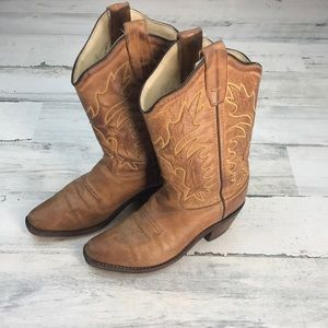 Old West cowgirl boots size 13